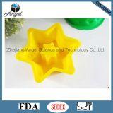 FDA y molde para pasteles aprobado LFGB Sc06 del molde de la torta del silicón
