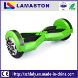 """""""trotinette"""" do balanço do auto 8 skate da roda de Bluetooth dois da polegada com pisca-piscas do diodo emissor de luz"""