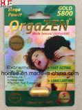 Realçador erval do sexo do comprimido do sexo do homem de medicina do sexo de Orgazen