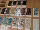 Azulejos de mosaico de mármol de Bianco Carrara del mármol/del granito/decoración/blanco/negro/amarillento/verde/amarillo/mármol de Brown