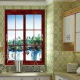 Большинств популярное окно Deisgn алюминиевое с декоративной нашивкой