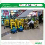 Супермаркет ягнится магазинная тележкаа металла для сбывания