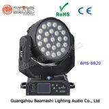 24의 4in LED 이동하는 표제 RGBW 세척 빛