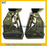 2 медаль сторон 3D