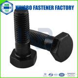ANSI/ASTM/ASME B18.2.1の重いHexは等級5の黒い洗濯機表面をボルトで固定する