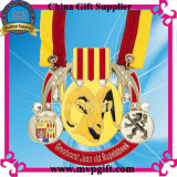 3D personnalisé Medal avec Print Ribbon