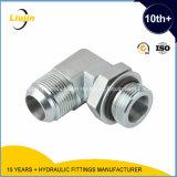 90 degrés Elbow Jic Male/Bsp Male O-Ring Tube Adapter Hydraulic Nipple (1JG9-OG)