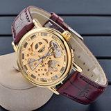 Het nieuwe Automatische Horloge van de Stijl, Horloge hl-BG-090 van het Roestvrij staal van de Manier
