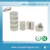 De Permanente N42 Magneet van uitstekende kwaliteit van de Cilinder van NdFeB van het Nikkel