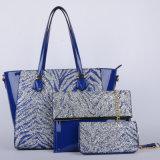 De nieuwe Handtassen van de Combinatie Pu van de Dames van het Ontwerp (p6328-2)