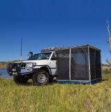卸し売り車のテント、カのテントを防ぐ草原