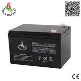 bateria acidificada ao chumbo do Mf do armazenamento recarregável do AGM de 12V 10ah para o UPS pequeno
