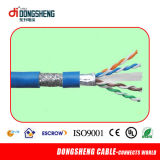 Copper nudo 24AWG Cat5e SFTP Data Cable/Network Cable/LAN Cable