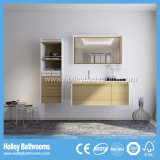 Gabinete de armazenamento moderno de madeira aberto do banheiro da multi novela moderna (BF150D)