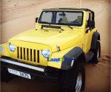 97-06 gril noir mat de gril fâché de crâne de Wrangler de Tj pour la jeep