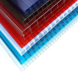 PC Gêmeo-Wall Sheet de Hollow Polycarbonate com Protection UV