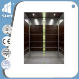 속도 1.0m/S Etching Mirror Stainless Steel Passenger Lift