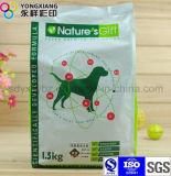 De dimensionale Verpakkende Zak van het Voedsel voor huisdieren van de Ritssluiting