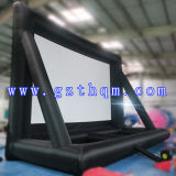 Écran de film extérieur gonflable/écran à la maison extérieur de projecteur/la publicité de l'écran gonflable