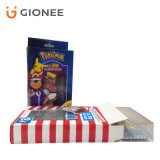 Подгонянное печатание коробки подарка бумажной доски складывая упаковывая