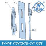 Yh9521 까만 내각 키 문 막대 통제 자물쇠