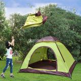 Tentes automatiques en gros de plage, 3-4 tentes de haute qualité de famille de personne