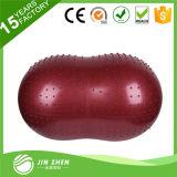 La bola barata del cacahuete 2016 con insignia imprimió la bola de encargo de Pilates del cacahuete con la insignia impresa