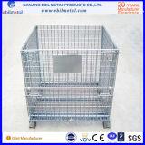 Recipiente Foldable do engranzamento de fio/recipiente metálico com alta qualidade