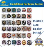в значке Auto Emblem Stock Masonic Car
