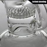 Сделано из стеклянной трубы водопровода для куря сота диаманта стеклянного пускает буровую вышку по трубам