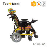Reclining High Back를 가진 Topmedi Pediatric Power Aluminum Wheelchairs