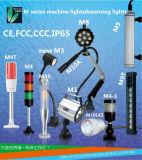 Indicatore luminoso flessibile di Gooseneck/indicatore luminoso basso magnetico del lavoro della macchina