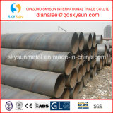 Diametro 219mm-3500mm/High-Strength Spiral Welded Steel Pipe