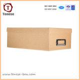 Cadre de empaquetage de cadeau blanc mat à extrémité élevé de carton