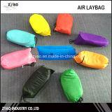 Base portátil Laybag inflável do sofá do ar da tela de nylon impermeável do logotipo do OEM de 9 cores