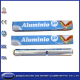 Food PackagingのためのConvient Healthy Aluminum Foil Roll