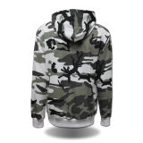 Fashion all'ingrosso Cotton Men Highquality Camo Hoodies con Hood