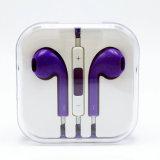 Mic及び音量調節を用いるiPhone 6sのための多彩な耳のイヤホーン