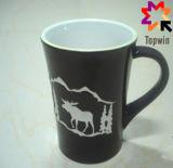 Il marchio ha stampato la tazza di ceramica personalizzata del tè
