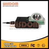 Cargador de alta tecnología para las linternas de casco, lámpara de la explotación minera de la pista del minero de la sabiduría