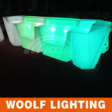 Mesa de barra LED para festa LED Bar Counter LED Hotel Furniture