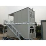 Vorfabrizierte Haus-Projekt-Site-Fertigbehälter-Haus