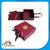 Contenitore impaccante di contenitore di vestiti dell'oro di alta qualità con la finestra del PVC