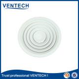 Diffusore circolare rotondo di alluminio dell'aria di colore bianco