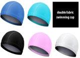 カスタム印刷のシリコーンの水泳帽か乳液またはLycraまたはポリエステル水泳帽
