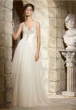 Sexy Deep-V A-Line Vestidos de casamento nupcial Wd5374