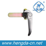 Governo industriale in lega di zinco L serratura della maniglia (YH9672) della serratura della maniglia di portello di alta qualità