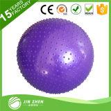 Bola del masaje de la gimnasia, bola del masaje de la yoga del ejercicio del PVC