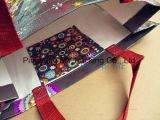 Sacos de compra tecidos PP laminados de Eco OPP película ambiental com bolso