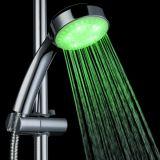 Cabeça de chuveiro leve do diodo emissor de luz do ABS chinês do banheiro